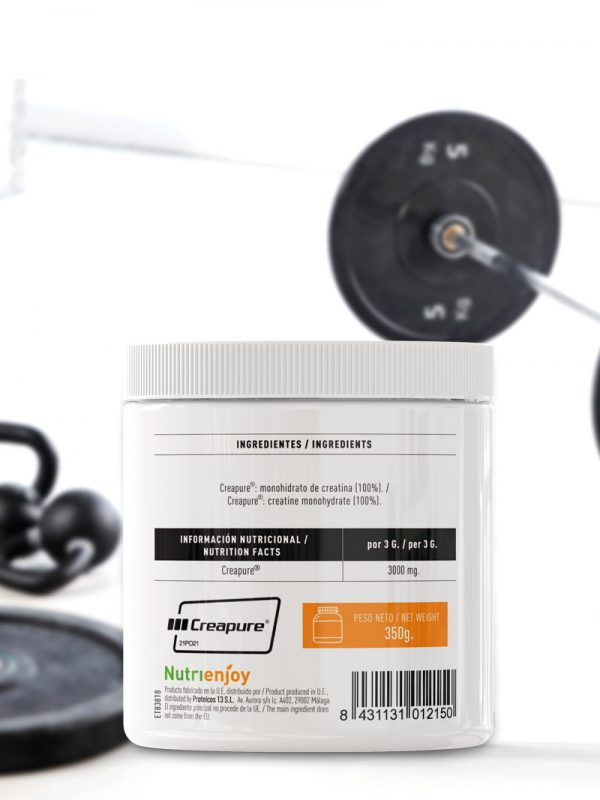 Creatine Pure Natural imagen lateral 1