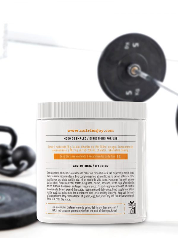 Creatine Pure Natural lateral 2